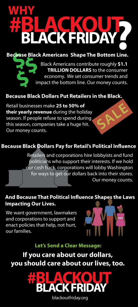 BlackOut Black Friday Info Graphic